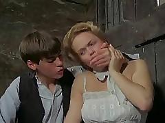Opiekunka gorącego wideo rury porno